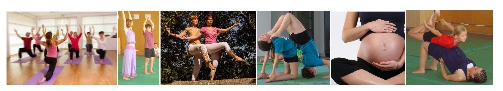 bandeaux photos site cours de yoga