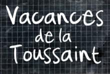 Vacances de Toussaint